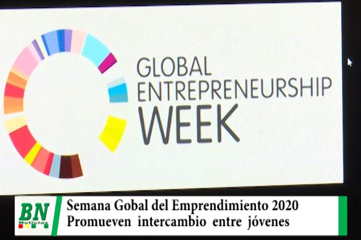 Lee más sobre el artículo En la Semana Global del Emprendimiento 2020 promueven el intercambio de conocimiento entre jóvenes