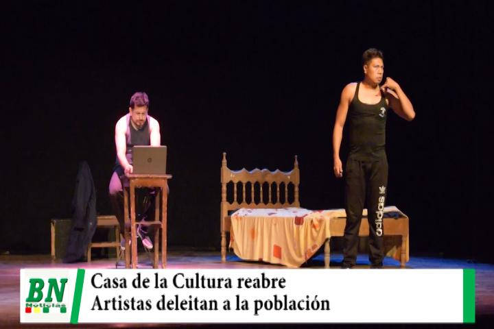Lee más sobre el artículo Casa de la Cultura reabre y artistas van a los barrios a deleitar a población