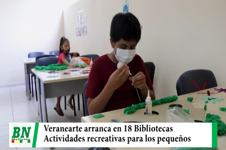 Lee más sobre el artículo Arranca el programa Veranearte con diversas actividades recreativas para los pequeños
