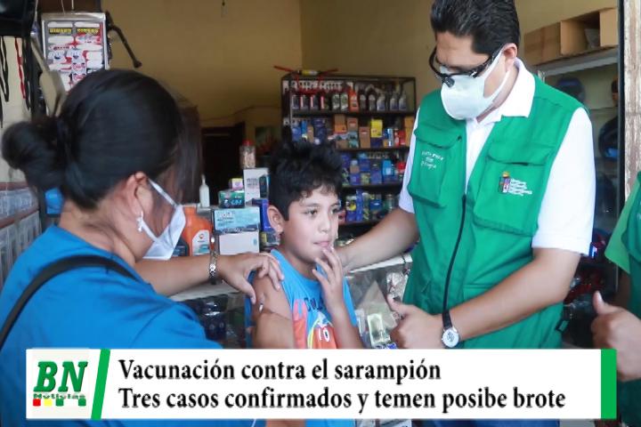 Lee más sobre el artículo Campaña de vacunación contra el sarampión al confirmarse tres casos, temen posible brote