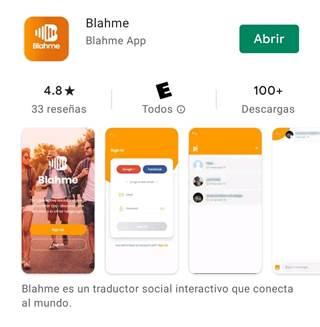 """Lee más sobre el artículo """"Blahme"""" la app creada por bolivianos que busca eliminar la barrera del idioma para siempre"""