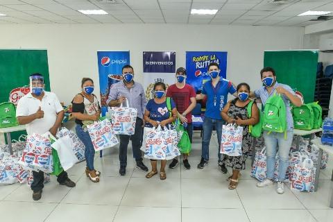 Lee más sobre el artículo CBN, a través de su marca Pepsi, entrega ítems de bioseguridad para tiendas en Santa Cruz