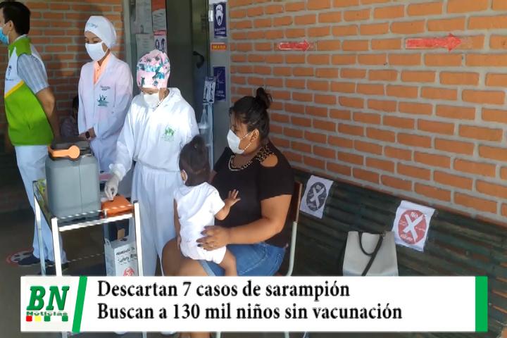Lee más sobre el artículo Sedes descarta 7 casos sospechosos de sarampión y buscan a 130 mil niños no vacunados