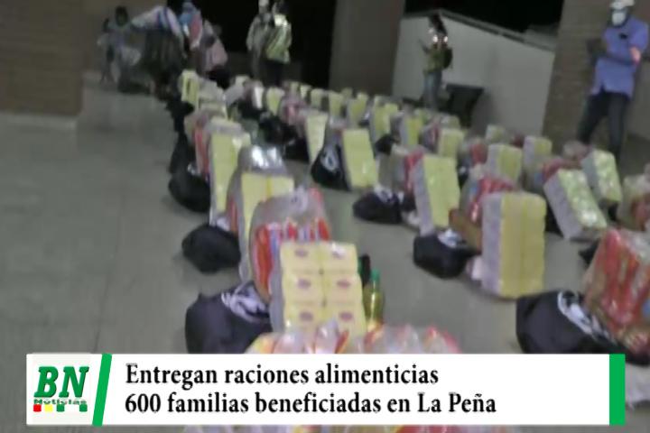Lee más sobre el artículo Alcaldía y Fundación Tzu Chi entregan raciones alimenticias en La Peña que beneficiaran a más de 600 familias