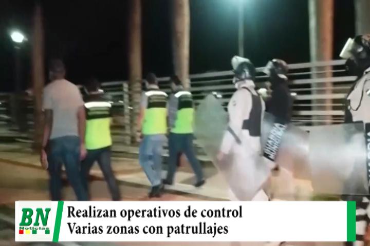 Lee más sobre el artículo Realizan operativos de control en varias zonas de la ciudad ante denuncias de robos