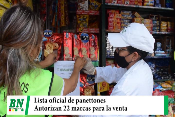 Lee más sobre el artículo Municipio pega lista de panettones autorizados para la venta con 22 marcas