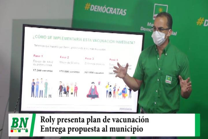 Lee más sobre el artículo Roly presenta plan de vacunación contra el covid-19 y entrega propuesta al municipio