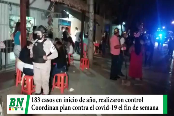 Lee más sobre el artículo Alerta coronavirus, 183 contagios en inicio de año y realizaron clausura de locales, coordinan plan contra el covid-19