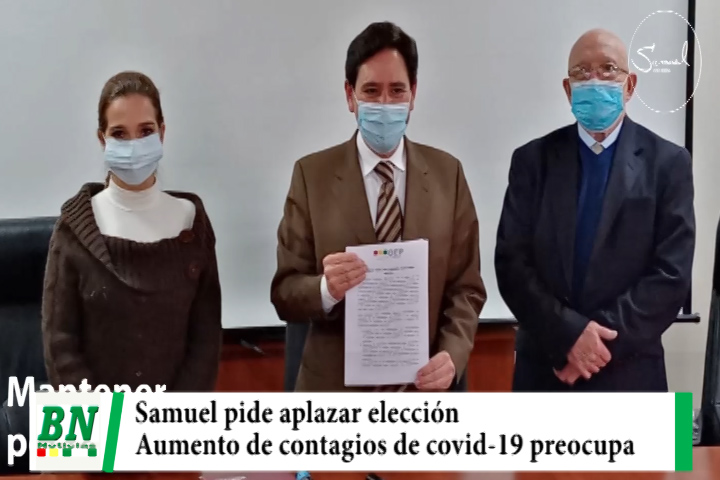 Lee más sobre el artículo Elección 2021, Medina pide al TSE aplazar elección subnacional por elevado contagios de covid-19