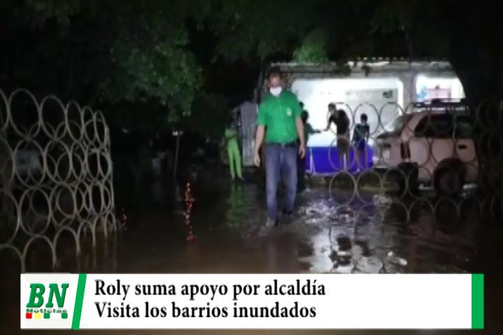 Lee más sobre el artículo Campaña Demócratas 2021, Roly suma apoyo mientras visita barrios afectados por lluvia