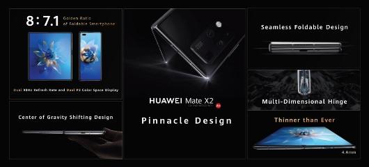 Lee más sobre el artículo Imagina lo que se viene: Huawei anuncia el HUAWEI Mate X2