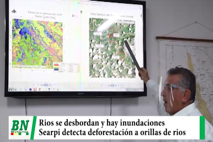 Lee más sobre el artículo Desborde de rios se deben a deforestación en sus orillas y disminución de servidumbre ecológica