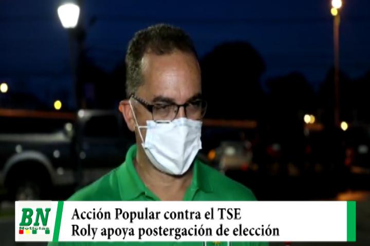 Lee más sobre el artículo Elección 2021, Admiten Acción Popular contra el TSE y Roly apoya postergación de elección