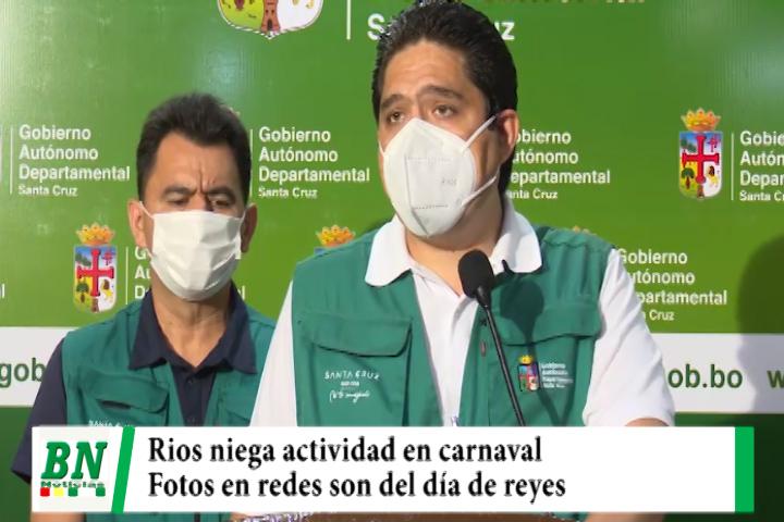 Lee más sobre el artículo Rios niega haber estado en actividad en carnaval y dice que fotos en redes son de el día de reyes