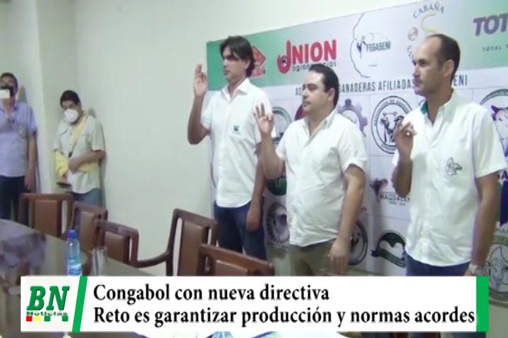 Lee más sobre el artículo Congabol con nueva directiva y retos de cuidar la producción, créditos, tierras y normas acordes