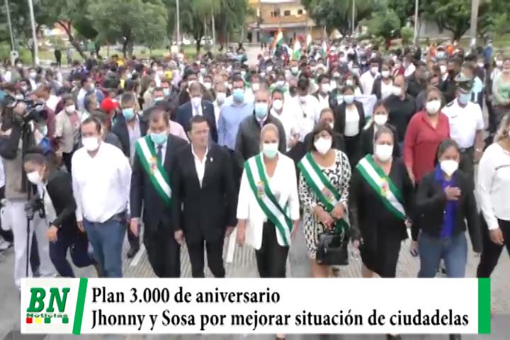 Lee más sobre el artículo El Plan 3,000 de aniversario y Jhonny y Sosa de acuerdo en mejorar situación de ciudadelas