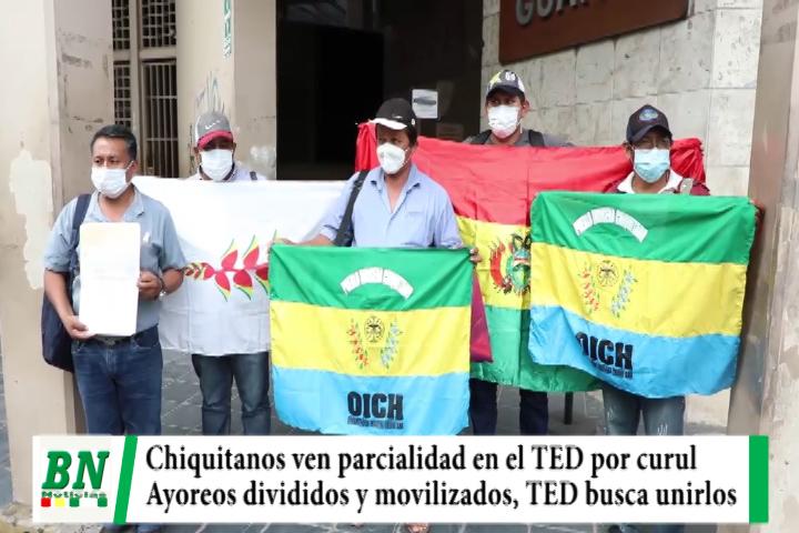 Lee más sobre el artículo Indigenas divididos por curules de la ALD, Chiquitanos acusan parcialidad y TED busca unir a Ayoreos movilizados