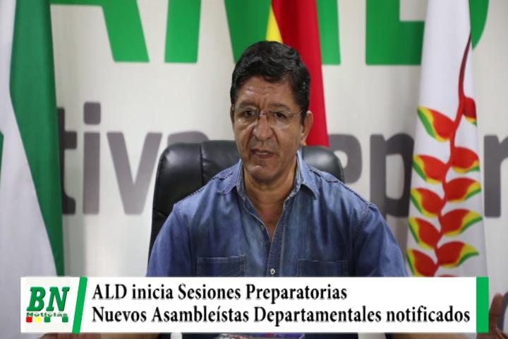 Lee más sobre el artículo Inician Sesiones Preparatorias para transición de la ALD cruceña, nuevos Asambleístas fueron notificados