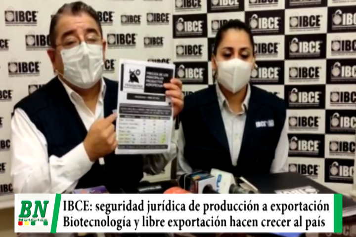 Lee más sobre el artículo IBCE: seguridad jurídica desde producción a exportación para generar divisas, Biotecnología y libre exportación harán crecer al país