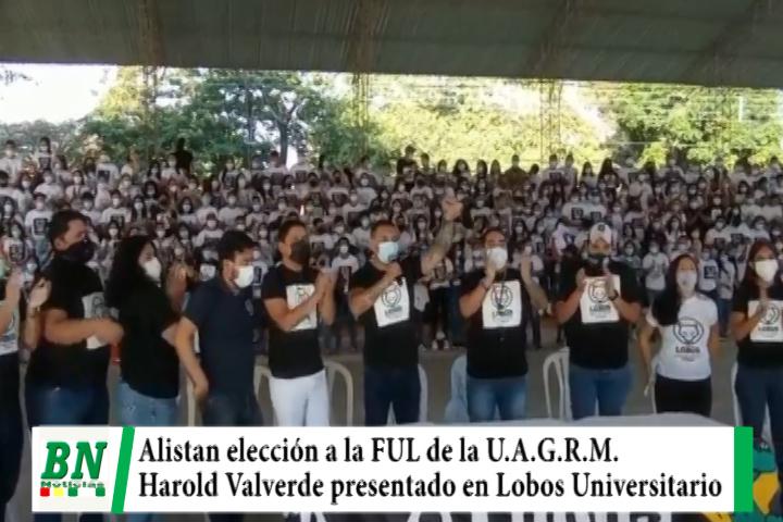 Lee más sobre el artículo Inician campaña para la elección de Ejecutivo a la FUL y Harold Valverde postula por Lobos Universitarios