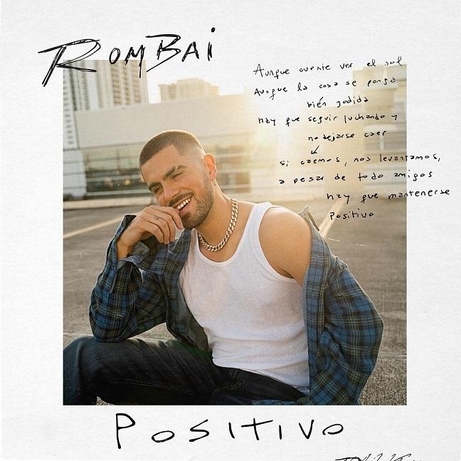 """Lee más sobre el artículo Rombai lanza su muy esperado álbum debut""""Positivo"""""""