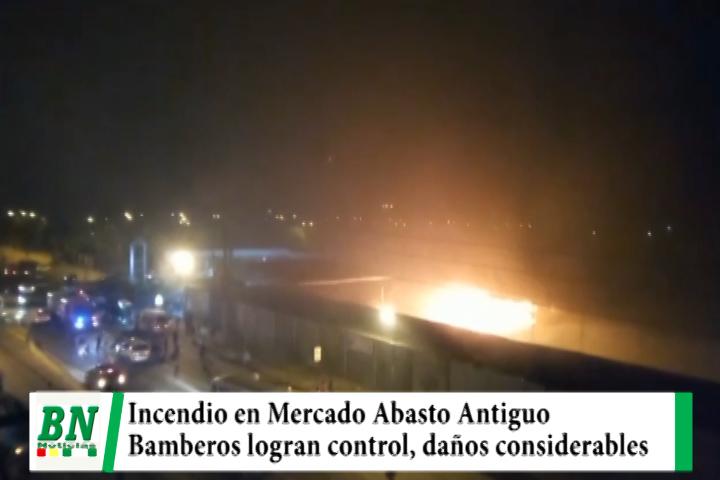 Lee más sobre el artículo Incendio en el Mercado Abasto Antiguo con daños de consideración
