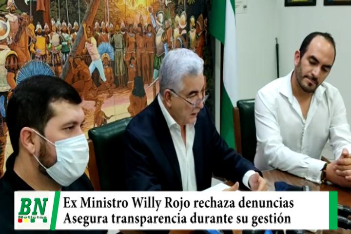 Lee más sobre el artículo Ex ministro Willy Rojo rechaza denuncias en su contra