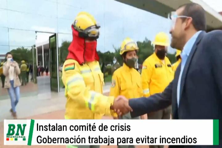 Lee más sobre el artículo Gobernación instala comité de crisis que trabajarán para evitar incendios forestales