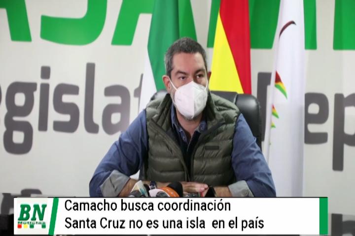 Lee más sobre el artículo Camacho busca coordinación con el Gobierno nacional y pide reunión