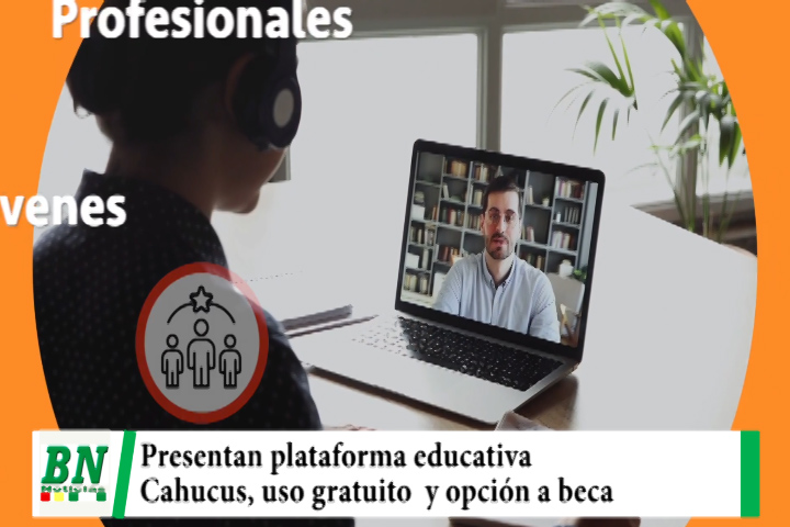 Lee más sobre el artículo Presentan innovadora plataforma educativa Cahucus, uso gratuito y opción a beneficiarse con beca