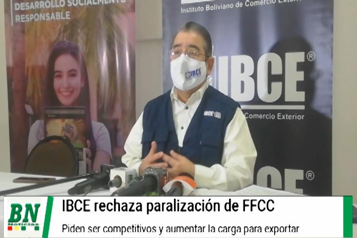 Lee más sobre el artículo IBCE rechaza paralización de FFCC Andina por perjuicio, transporte debe competir