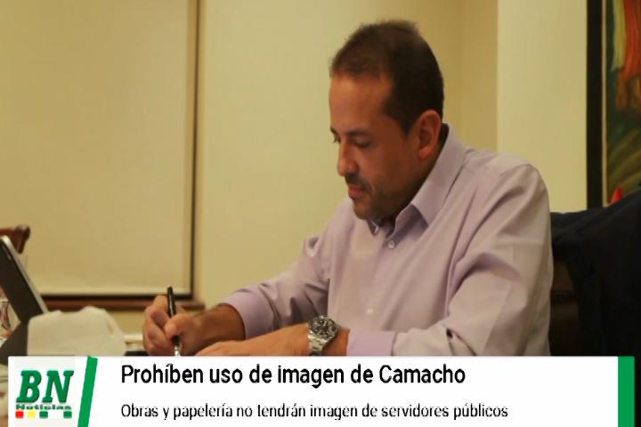 Lee más sobre el artículo Prohíben uso de imagen de Camacho y autoridades en obras y papelería de la Gobernación