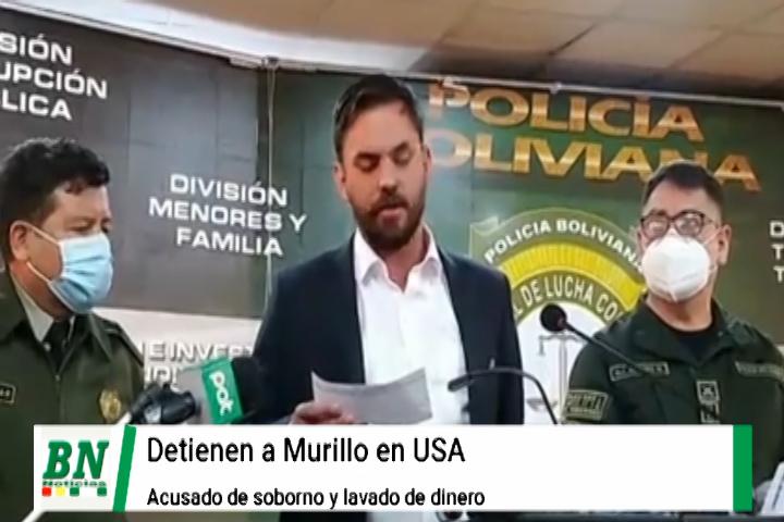 Lee más sobre el artículo Ex ministro Arturo Murillo es detenido en USA y Gobierno busca extradición mientras Creemos pide máximo castigo