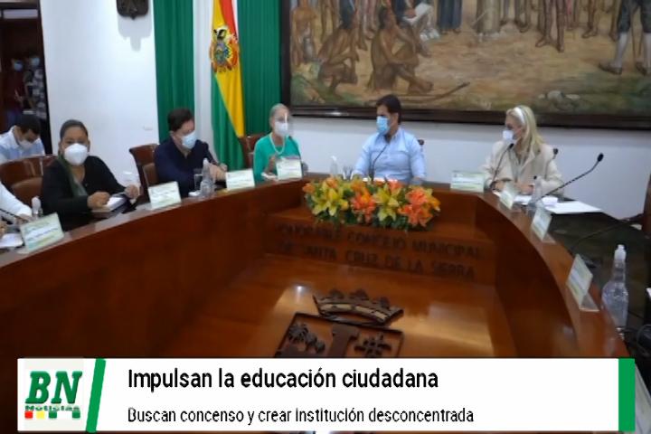 Lee más sobre el artículo Promueven la educación ciudadana y buscan consenso para crear institución