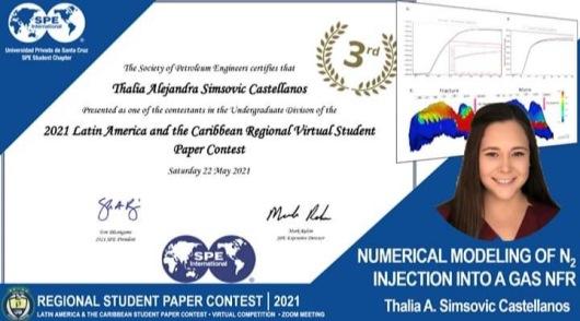 Lee más sobre el artículo Estudiante UPSA gana tercer lugaren el Regional Student Paper Contest