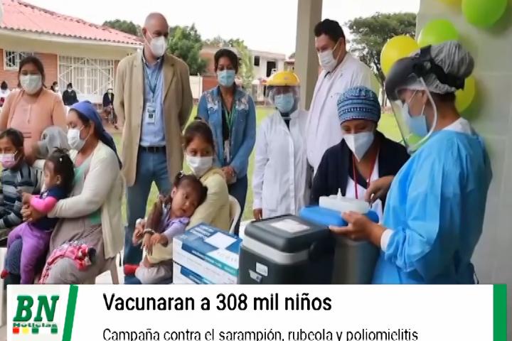 Lee más sobre el artículo Campaña de vacunación prevé aplicar dosis a 308 mil niñós y adolescentes por sarampión, rubéola y poliomielitis