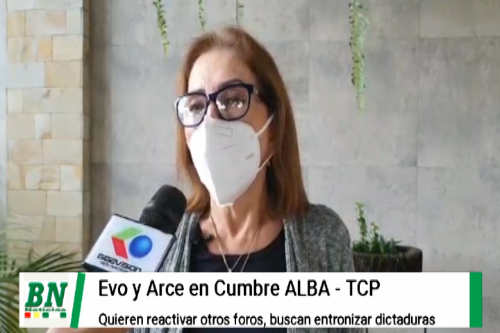 Lee más sobre el artículo Evo y Arce participan en Cumbre ALBA-TCP y Creemos ve que quieren entronizar dictaduras