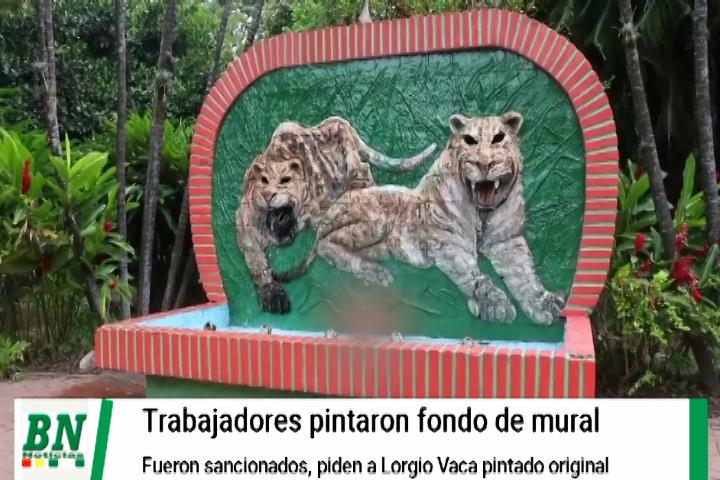 Lee más sobre el artículo Mural de los tigres en el Zoo fue pintado sin autorización y funcionarios fueron sancionados