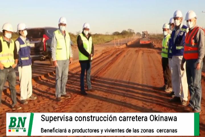 Lee más sobre el artículo Camacho supervisa construcción de carretera a Okinawa que beneficiará a productores del Norte