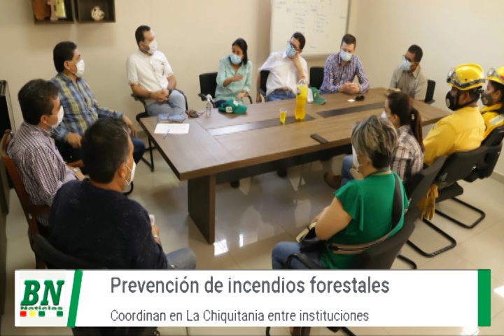 Lee más sobre el artículo Coordinan con chiquitanos para evitar incendios forestales, Gobernación y otras instituciones  realizan reunión