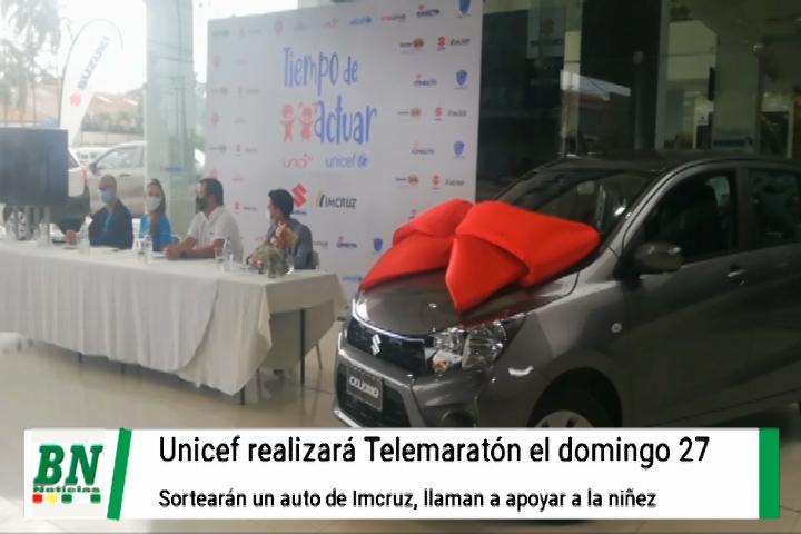 Lee más sobre el artículo Preparan telemaratón entre Unicef y empresas privadas en beneficios de la niñez, sortearán un auto