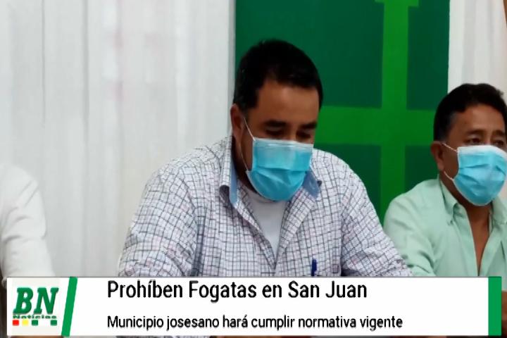 Lee más sobre el artículo En San José de Chiquitos prohíben fogatas en San Juan y realizarán control