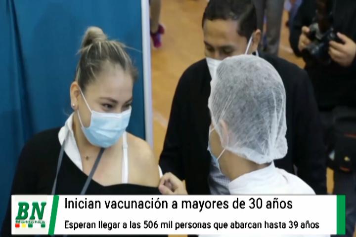 Lee más sobre el artículo Alerta coronavirus, vacunación a mayores de 30 años mientras bajan contagios, entregan equipos e insumos