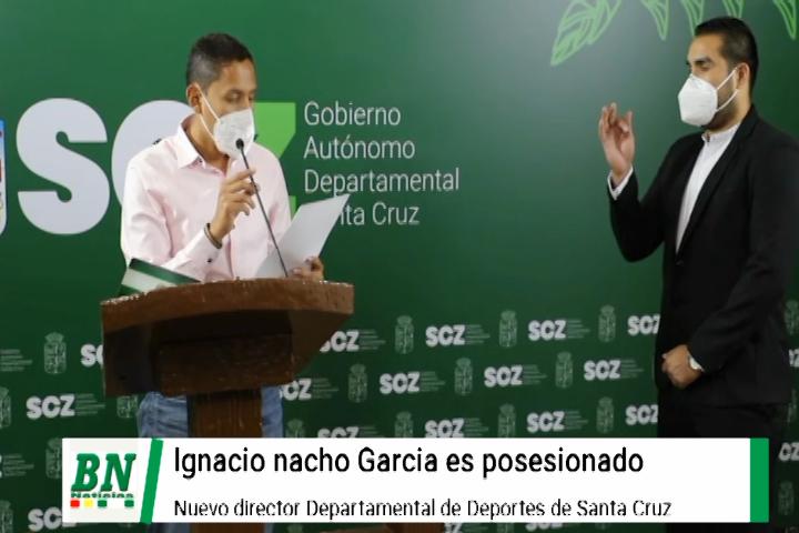 Lee más sobre el artículo Ignacio Nacho Garcia es posesionado como Director Departamental de Deportes