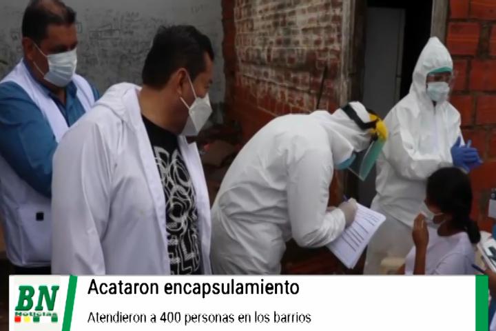 Lee más sobre el artículo Alerta coronavirus, Bajan contagios y positividad, rastrillaje en los barrios y atienden a 400 personas