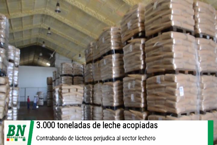 Lee más sobre el artículo PIL acopia 3000 toneladas de leche por poco consumo debido a contrabando de lácteos