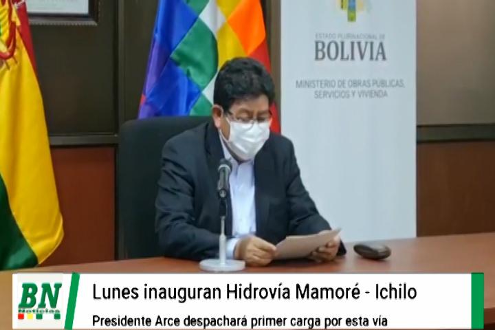 Lee más sobre el artículo Lunes dan inicio al transporte de carga por la Hidrovía Ichilo-Mamoré