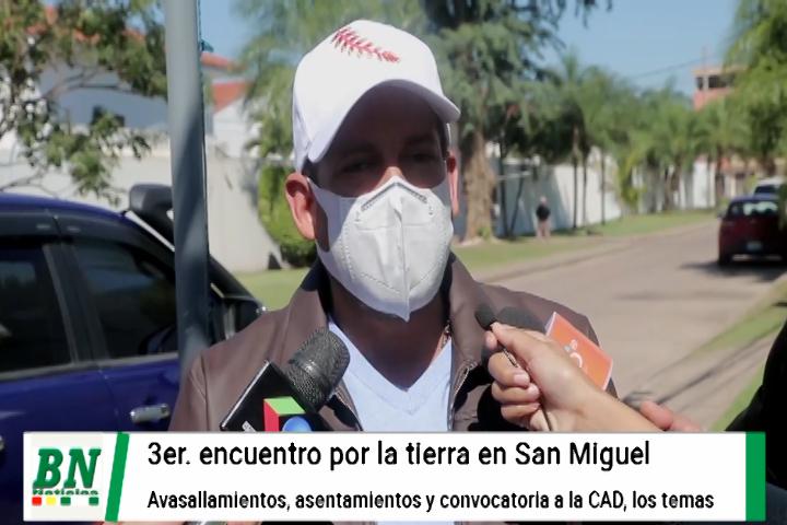 Lee más sobre el artículo Congreso por la tierra en La Chiquitania contra avasallamientos, asentamientos e instalación de la CAD, chiquitanos mostrarán denuncias