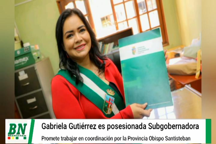 Lee más sobre el artículo Provincia Obispo Santisteban tiene a una mujer Subgobernadora y promete coordinar
