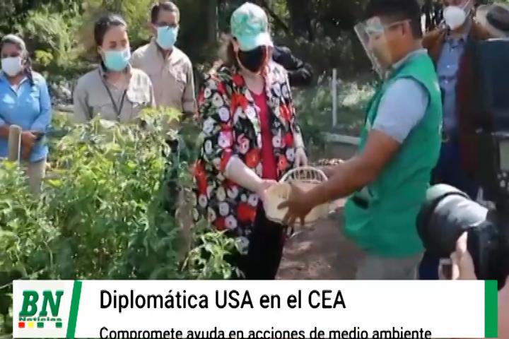 Lee más sobre el artículo Diplomática de Estados Unidos visitó el CEA y comprometió ayuda para trabajos en pro del medio ambiente